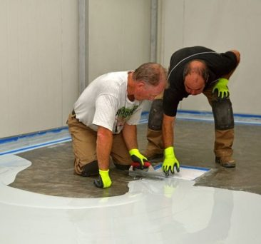 concrete floor coating charlotte nc