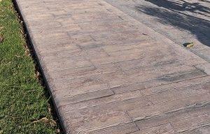 wood look concrete