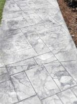 gray rectangle concrete walkway
